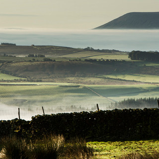 Mist in the Hodder Valley