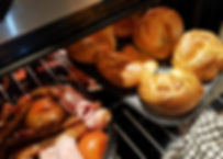 Cooking yorkshire puddings