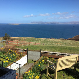 View from Green Pastures Cottage