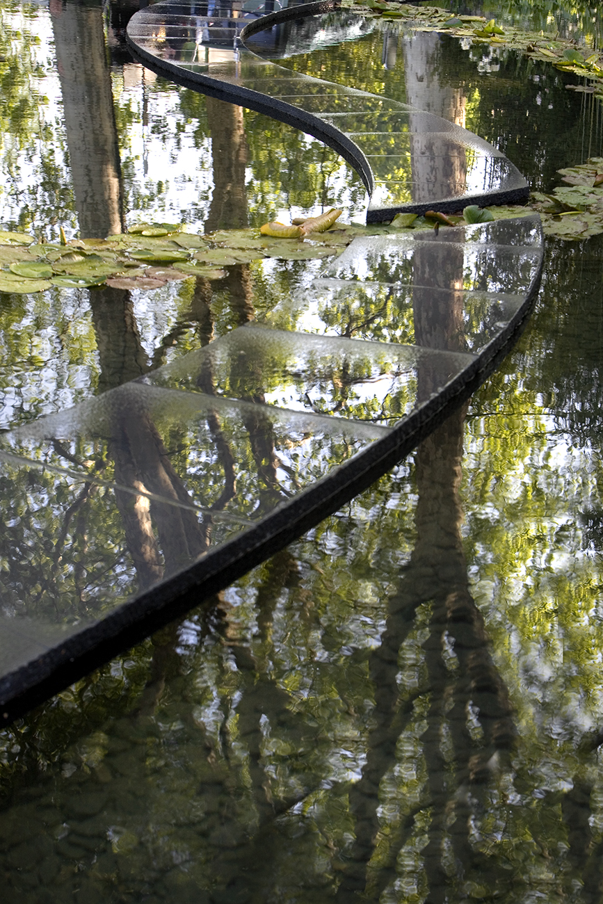 Slate and water reflections