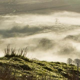 Mist in Hodder Valley