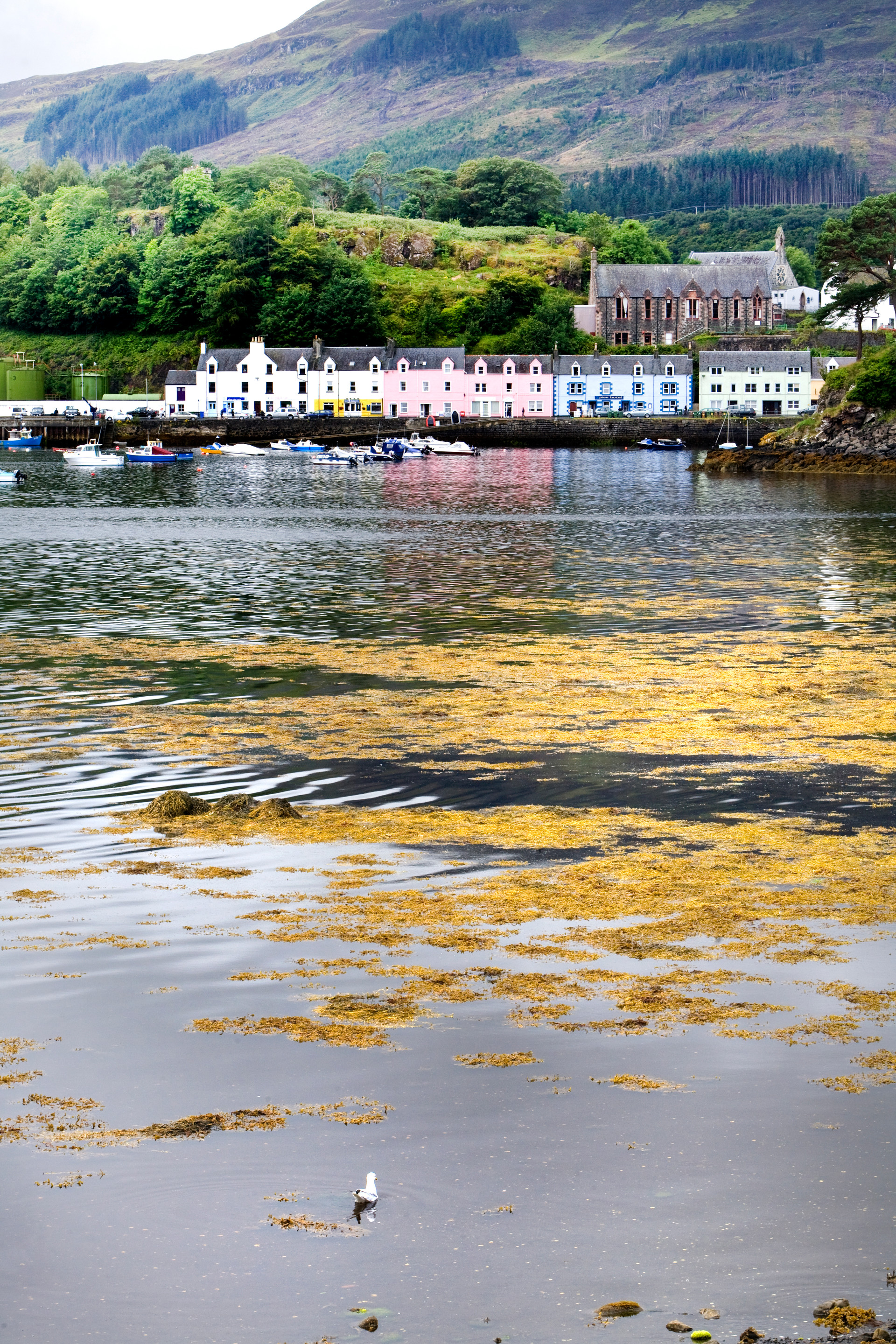 Colourful Houses Portree Isle of Skye