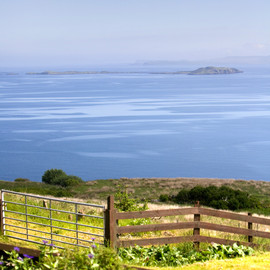 View to the Ascrib Islands from Green Pastures