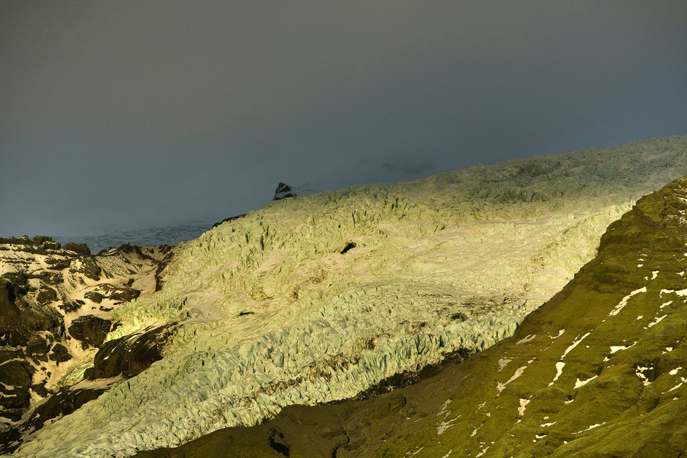 Skaftafell National Park, Vatnajokull, Iceland