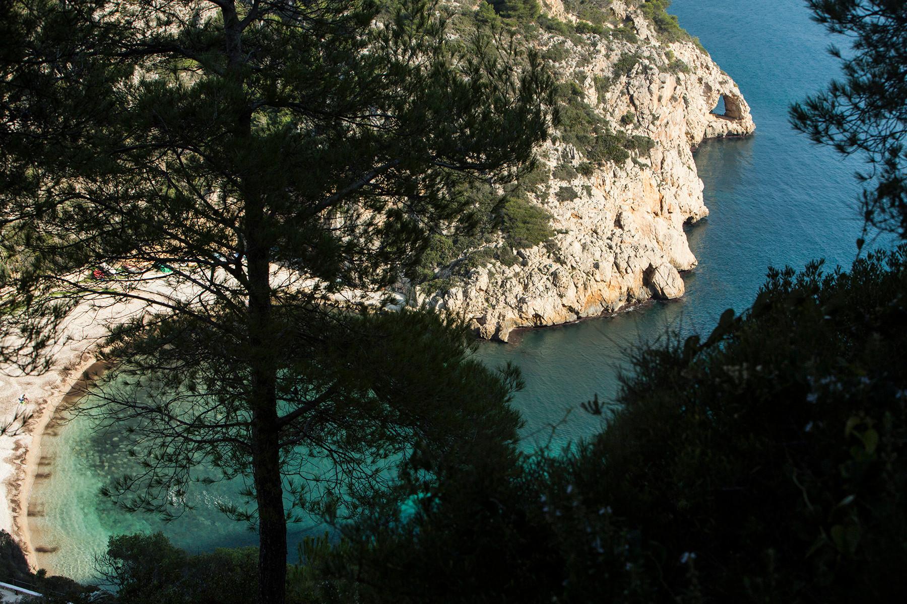 Granadella Beach, Javea, Spain
