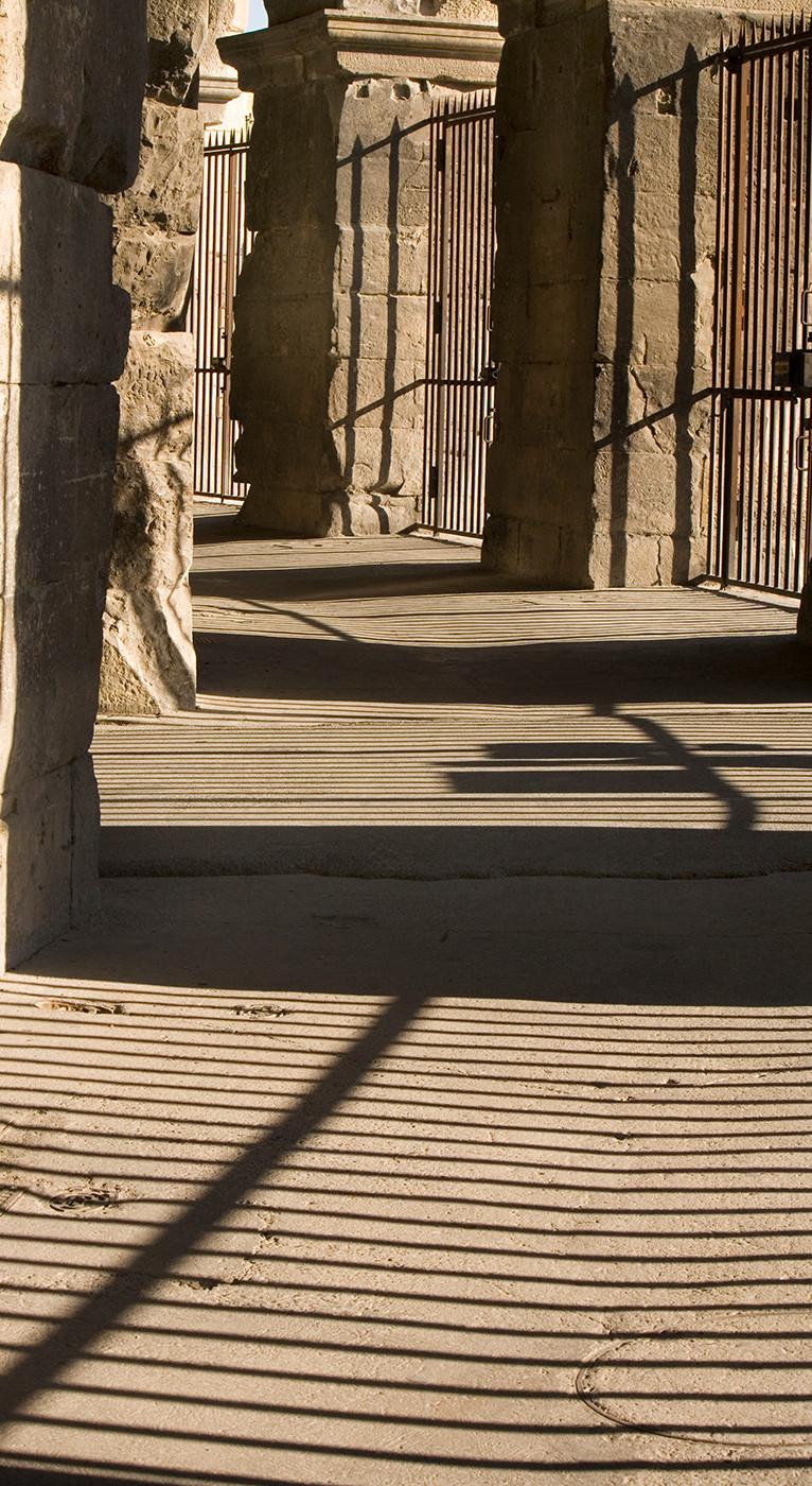 Shadows, Arles Amphitheatre