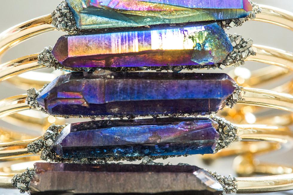 Quartz Crystal Bangles