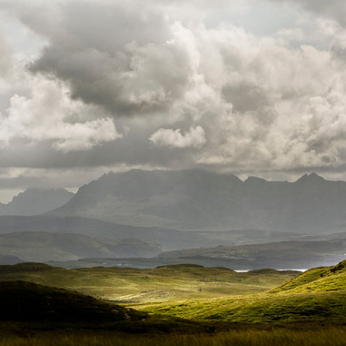 The Cuillin from Drynoch