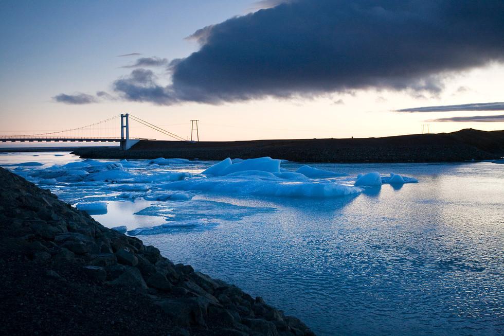 Icebergs Jokusarlon