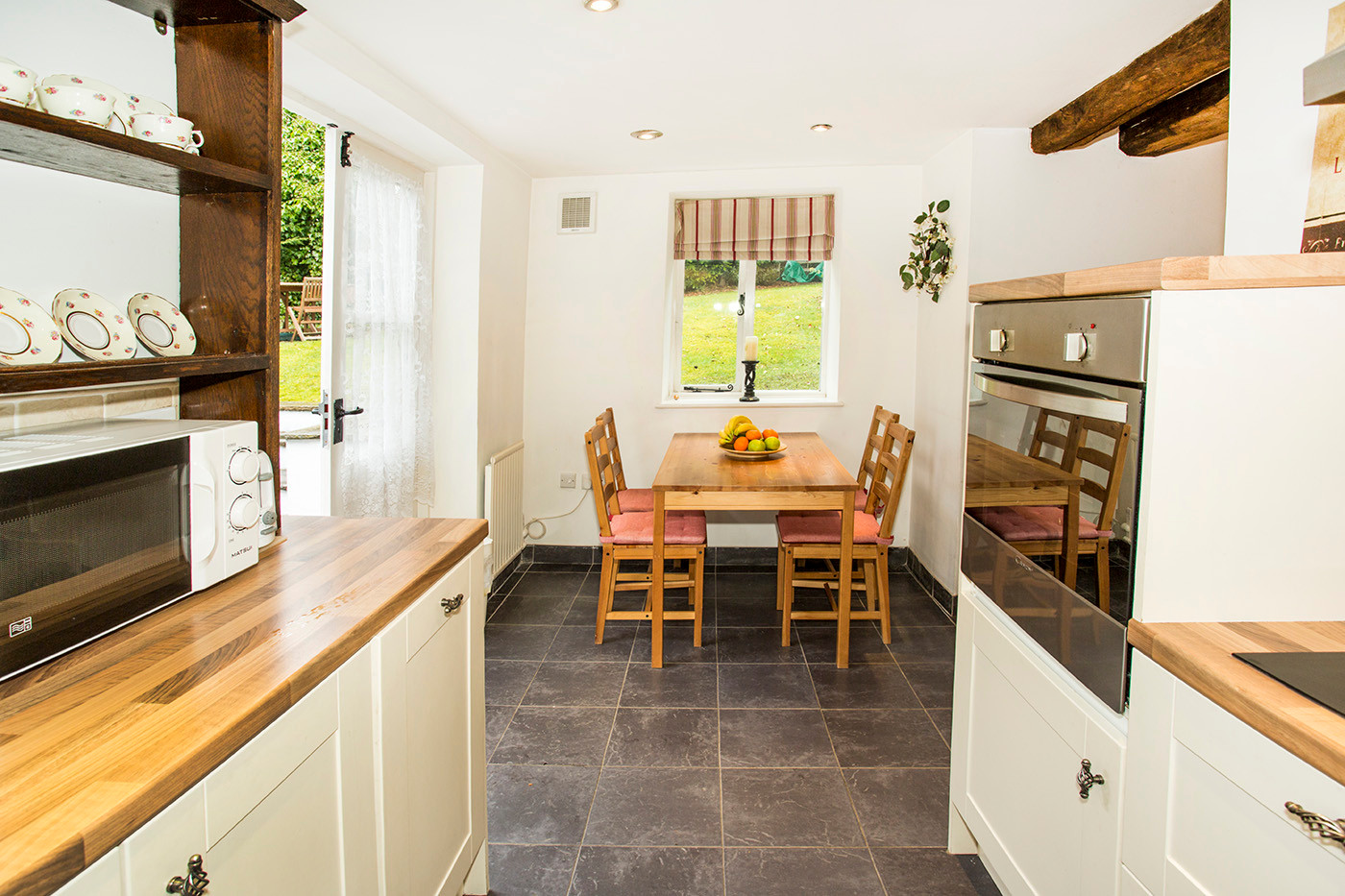 Contemporary country cottage kitchen