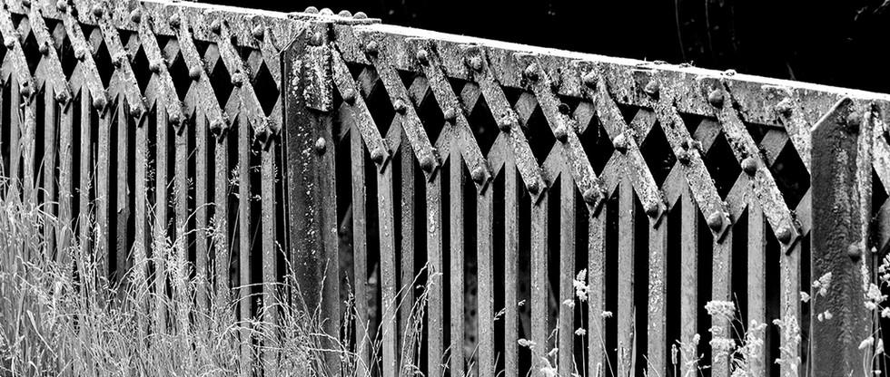 Railway fence, Millers Dale, White Peak
