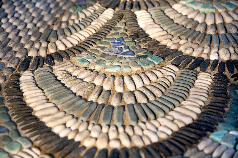 Garden Mosaic Detail