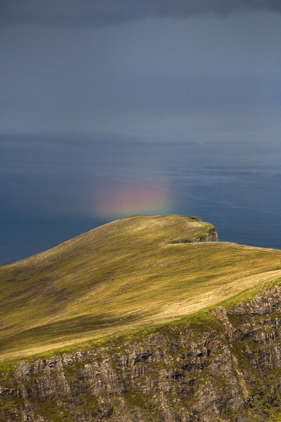 Rainbow over Sgurr Mor Trotternish