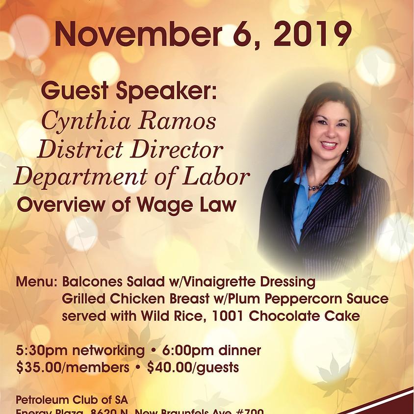 November General Meeting