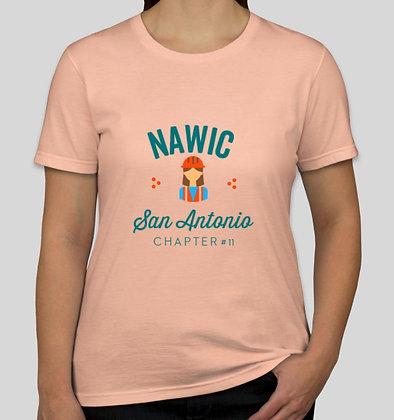 Peachy Keen San Antonio NAWIC shirt
