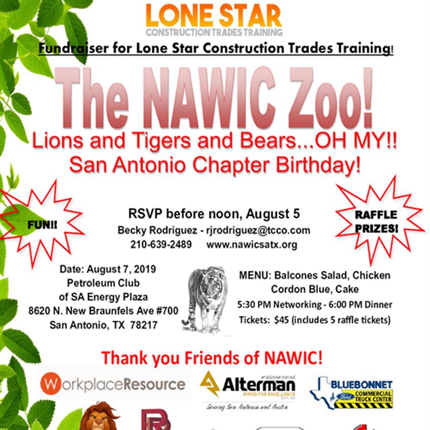 NAWIC SA Chapter Birthday - The NAWIC Zoo