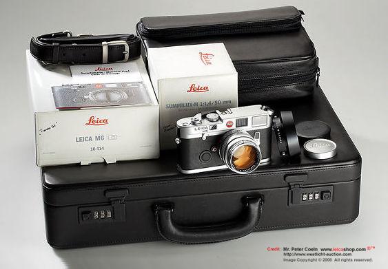 leica M6 traveler set