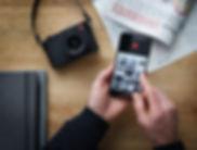 【新聞圖片3】全新徠卡Q2相機內置的Wi-Fi功能可結合徠卡FOTOS應用程式.