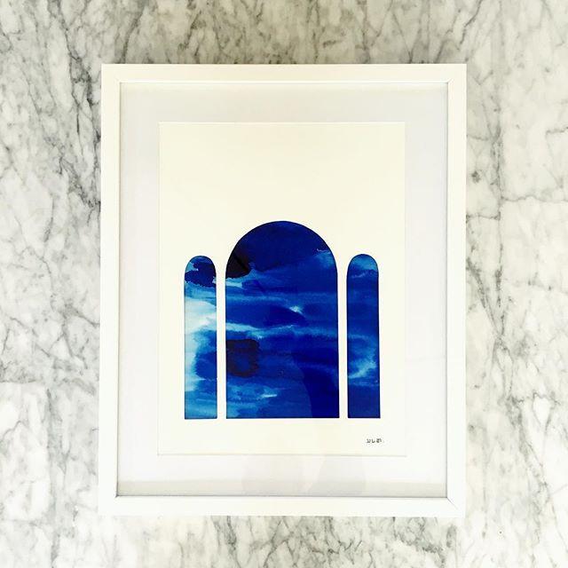 ➖julian Arnaud ➖__Série Arcades_Aquarell
