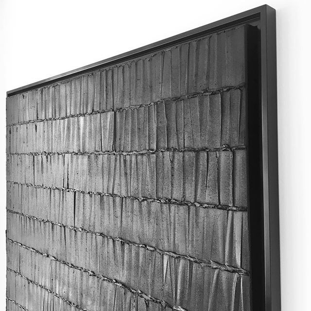 Private collection _Sculpture on canvas_