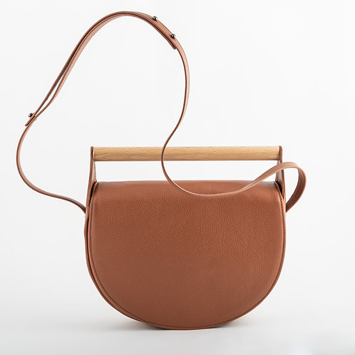 Mangata shoulder bag in earthy brown