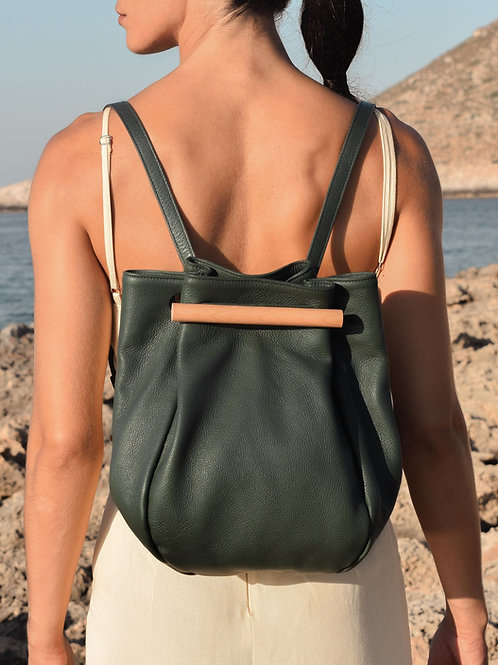 AWARE backpack in olive green