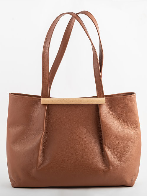 KILIG shoulder bag in earthy brown