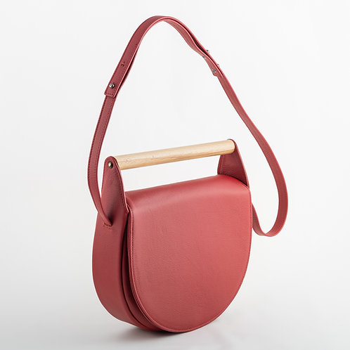 Mangata shoulder bag in cherry red