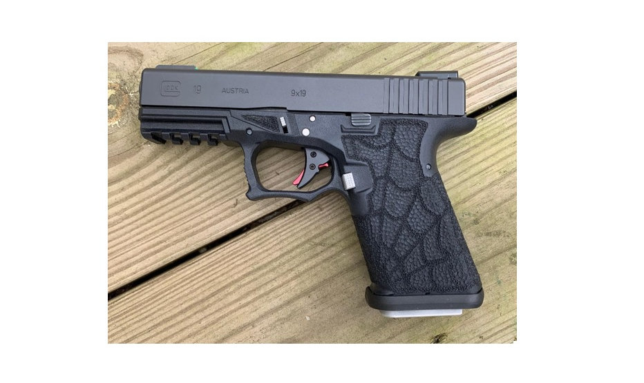 Polymer 80 Custom Stippled Frame