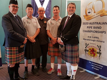 Back where it all began: Maryborough to host 2020 Australian Pipe Band Championships