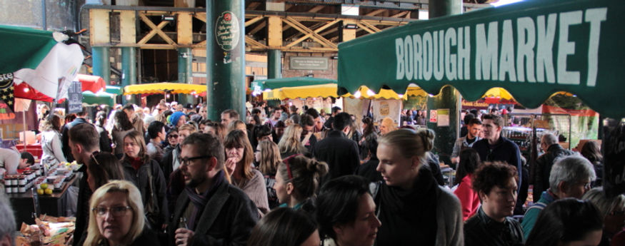 Borough Market on a saturday afternoon