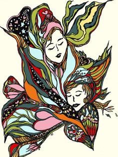 A Mother Daughter Hug