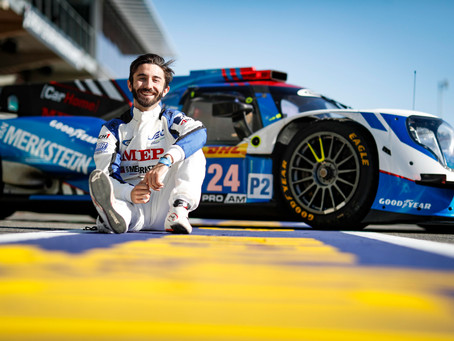 Gabriel Aubry to Sub for Ryan Dalziel in 4 Hours of Le Castellet