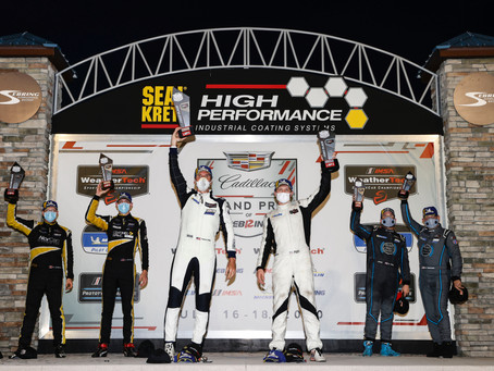 Era Motorsport Continues Podium Streak at Sebring International Raceway