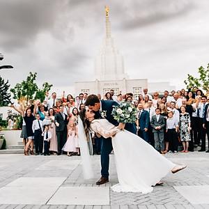 Madelyn and Logan Wedding Day