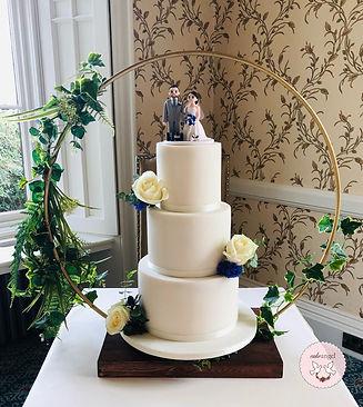 bespoke wedding cakes shropshire