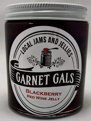 Blackberry Red Wine Jelly