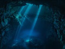 洞穴潛水的危機