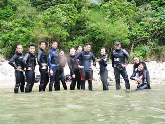 救援潛水員課程感想