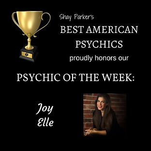 Joy Elle PSYCHIC OF THE WEEK