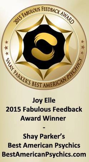 Joy Elle Fabulous Feedback Award Winner Best American Psychics