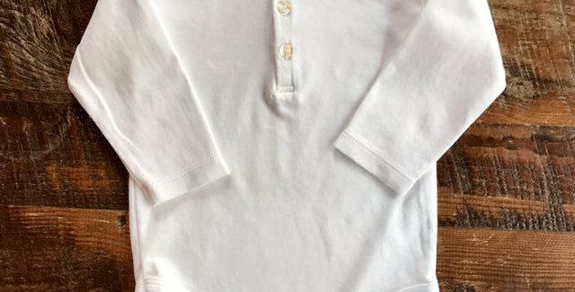 Collared Polo Kissy Kissy Onzie L/sleeve