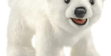 Polar Bear Cub puppet