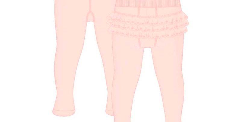 Ruffled Lace Fanny Tight
