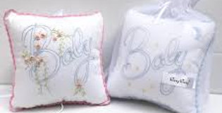 Premier 'Baby' Hand Embroidered musical pillow