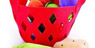 Vegetable Basket for Toddlers