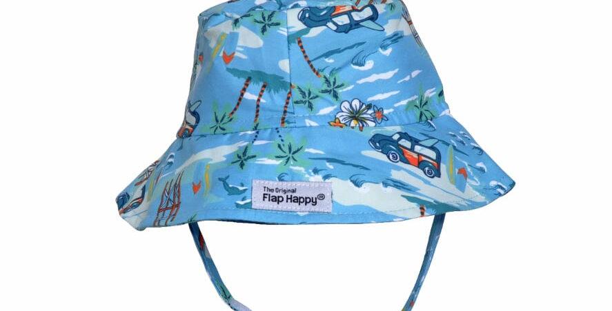 Pattern Bucket with strap UPF 50+
