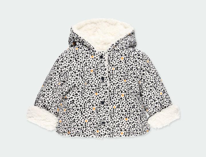 Reversible Plush Hooded Jacket