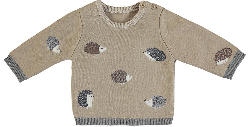 Jacquard Hedgehog Sweater