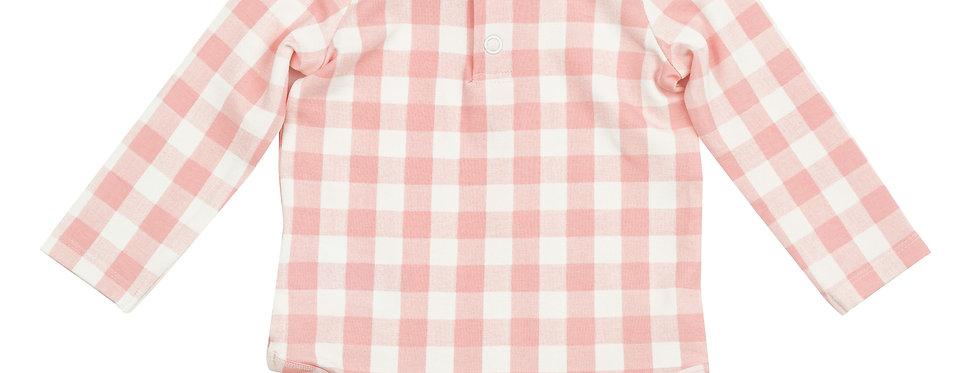 Gingham Pink Onesie